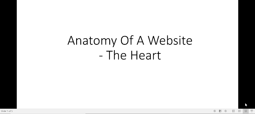 8. Anatomy Of A Website – The Heart