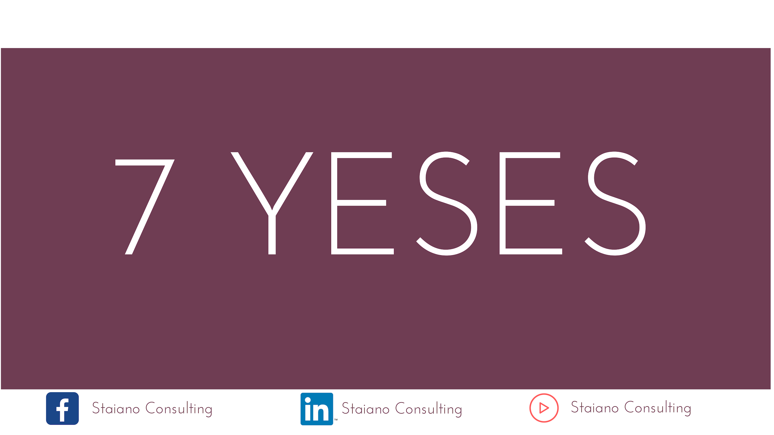 7 Yeses To Make A Good First Impression